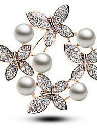 bianco coreano perla spilla