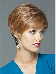 Women Lady Secondary Color Top Quality  Syntheic Wave Wigs