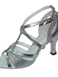 Женская обувь - Кожа - Доступны на заказ ( Черный / Серебряный / Другое ) - Латино