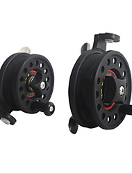 Fly Reels / Ice Fishing Reels 1:1 2 Ball Bearings Right-handed Fly Fishing / Ice Fishing