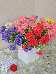 14 Heads at Ichiyoshi Chrysanthemum Silk Flowers Artificial Flowers