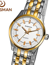 EASMAN® Watch Brand Luxury Women Quartz Watch Gold Watches 2015 Steel High Quality Gold Plated Wristwatches Watch Cool Watches Unique Watches