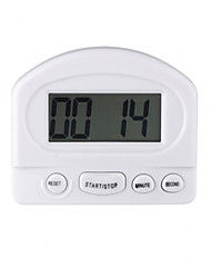 Mini LCD Digital Count Down/Up Kitchen Timer Magnetic & Clip Mounting