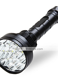 LT  5 Mode 18000 Lumens LED Flashlights 18650 LED Cree XM-L T6