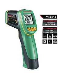 mastech ms6541 pantalla de tipo k simultánea y termómetro infrarrojo resolución óptica: (d: s) = 30: 1