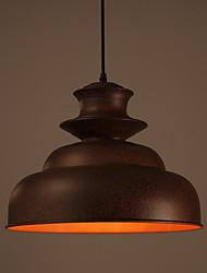 max60w Lustre ,  Vintage Autres Fonctionnalité for Designers MétalSalle de séjour / Chambre à coucher / Salle à manger / Cuisine /