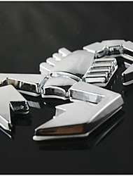 3D Scorpion Symbol Metal Alloy Car Emblem Badge Sticker Decal Auto Decoration Car Styling Stickers Accessories