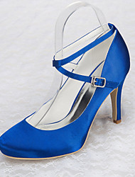 Women's Wedding Shoes Heels Heels Wedding / Party & Evening / Dress Blue