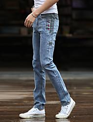 AOLONGQISHI® Men's Casual Pure Pant (Cotton/Denim) L2022