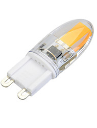 3 G9 Luces LED de Doble Pin T 1 COB 300 lm Blanco Cálido / Blanco Fresco Regulable AC 100-240 V 1 pieza