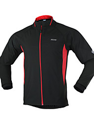 Arsuxeo Men's Cycling  Windproof Jacket Running Bicycle Spring/Autumn Coat