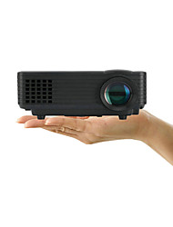 Portable 1080P HD 800 Lumens LED Projector with TV Output for Home Theater/Business/Education