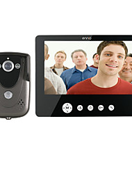 ENNIO 9 Inch Video Door Phone Doorbell Intercom Kit 1-camera 1-monitor Night Vision