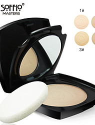 Soffio Wet And Dry Powder Foundation Moisturizing Concealer Dingzhuang Repair Capacity Powder Oil Control MAC Makeup Style