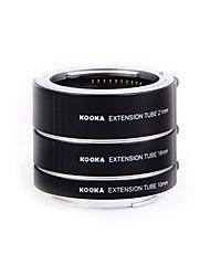kooka kk-SE47 af messing Makro Verlängerungsrohre für Sony E-Mount (10 mm 16 mm 21 mm-Kameras)