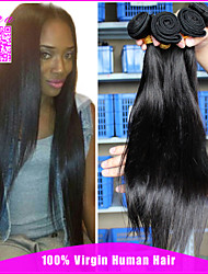 "Unprocessed Indian Virgin Hair Straight 3 Pcs Lot CARA Hair Products Virgin Indian Hair Weave Bundles 10""-24"""