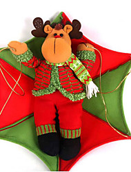 "80*50CM/31.5*19.7"" Vintage Raindeer In Parachute Christmas Tree Hanging Ornament Xmas Decoration"