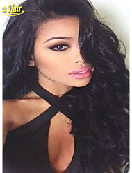 6A Glueless Full Lace Wigs Virgin Brazilian Body Wave Hair Wig Bleached Knots Full Lace Front Human Hair Wigs For Women