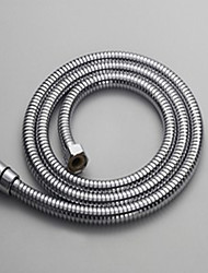 Stainless Steel Chrome finish Shower Hose Replacement Extended Length 1.5-Meter
