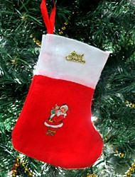 Christmas socks Christmas candy bag