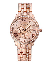 Women'S Watches Fashion Crystal Strip Quartz Geneva Watch