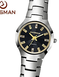 EASMAN® Watch Brand Silver Tungsten Steel Watch Luxury Sapphire Waterproof Ladies Quartz Designer Watches for Women Cool Watches Unique Watches