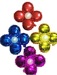 Christmas Ballon Aluminum Candy Color Flower Ballon Gift for Party Holiday Home Decroration