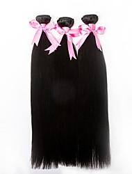 3pcs/lot 18inch Human Remy Hair Silk Straight Hair Weft Mongolian Virgin Hair Extensions 100% Human Hair Weaves