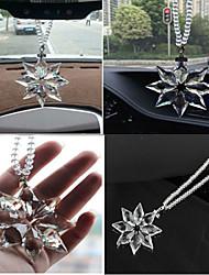 HONORV™ Crystal Snowflake Pendant Car