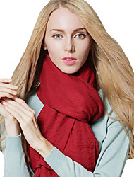 New Fashion Women Scarf Solid Color Linen Cotton National Long Shawl Pashmina
