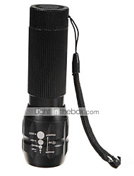 Beleuchtung LED Taschenlampen LED 500 Lumen 3 Modus Cree Q5 AAAWasserdicht / Wiederaufladbar / Stoßfest / Schlag-Fassung / Notfall /