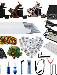 ITATOO® Full Tattoo Kits 3 Tattoo Machines with Free Gift of 20 Tattoo Ink Pigment
