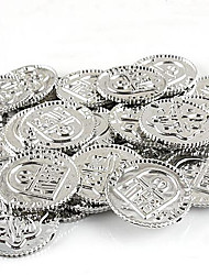 Silver Coin for Board Role-playing Games Type2 100Pic