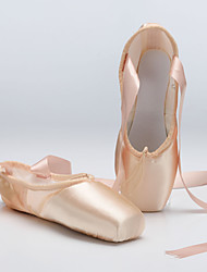 Non Customizable Women's / Kids' Dance Shoes Ballet / Dance Sneakers Satin Flat Heel Other /Cowhide