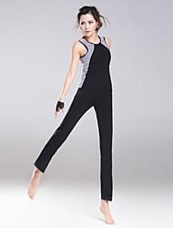 Yoga Sets de Prendas/Trajes Pantalones + Tops Transpirable Eslático Ropa deportiva Mujer - HaiYunLai Yoga