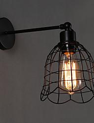 Lampade a candela da parete LED Moderno/contemporaneo Metallo
