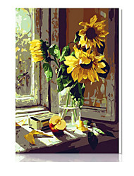 DIY digitales Ölgemälde Frame Familie Spaß Malerei alle von mir Fenster x5133