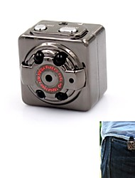 SQ8 Aluminum Mini 1080P Full HD 12.0MP CMOS Video Camera DVR w/ Motion Detection / Night Vision