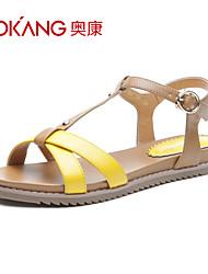 cuir sandales femmes aokang® - 132823460