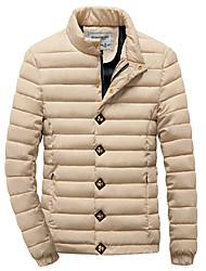 Manteaux & Vestes ( Polyester ) Informel Support à Manches longues pour Homme