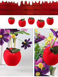 Red apple hang Christmas tree ornaments