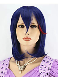Fashionable Handsome Korean Short Blue Hair Wigs