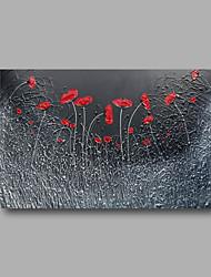 готовы повесить протянутой рукой роспись абстрактной Современная живопись маслом холст красные маки цветы деко искусства одну панель