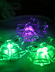 3.7CM Christmas Colorful Decorative Small Night Light/Can Paste Bell A Night Light  LED Lamp 1PC