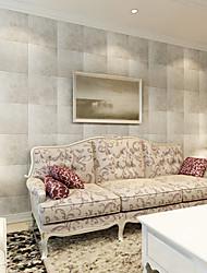 Riscas Papel de parede Contemporâneo Revestimento de paredes,PVC/Vinil Sim