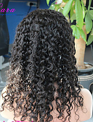 brésilienne de cheveux bouclés vierge perruque avant de lacet pour la dentelle avant perruques de cheveux humains des femmes noires 8