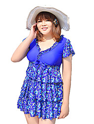 Plus Size XL - 6XL 2015 Summer Dress Women Large Size Swimwear One Pieces Brand Women Dress Swimsuit vestidos femininos