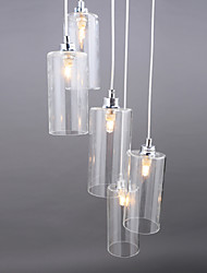 Clear Glass lamp Simple Modern Creative Restaurant