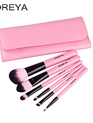 ZOREYA® 7 PCS Makeup Brush Brushes Pink Tool Kit Set Cosmetic