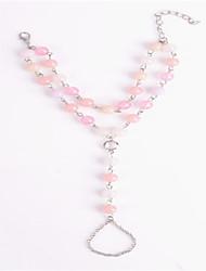 Casual Alloy Link/Chain Bracelet